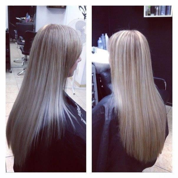 Тонирование волос в домашних условиях — фото до и после