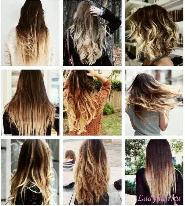 Что такое растяжка цвета на волосах и как её делать?