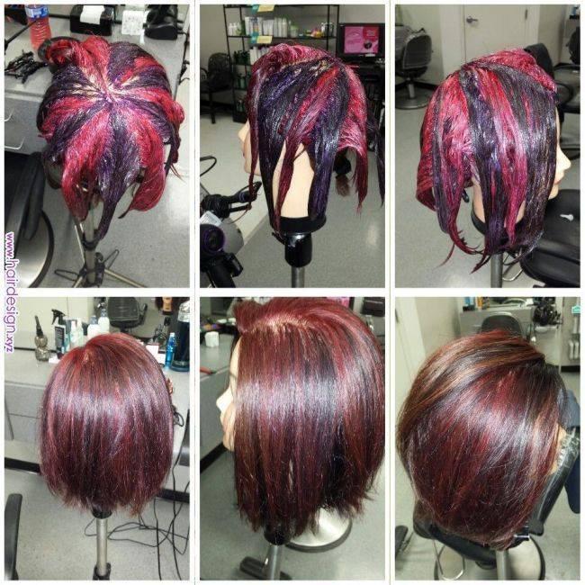 Что такое колорирование волос?