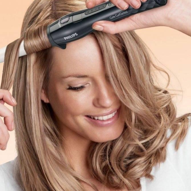 Кудри плойкой на средние волосы: как правильно делать красивые локоны