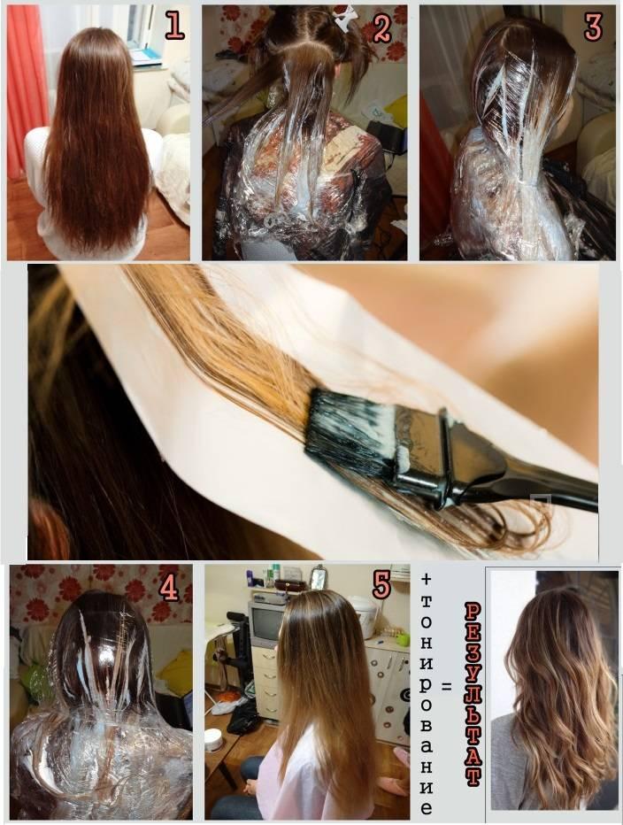 Техника окрашивания волос балаяж в домашних условиях и в салоне: балаяж на темные, русые и светлые волосы с фото и видео из салона