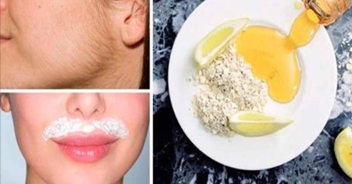 Как обесцветить усики над верхней губой в домашних условиях