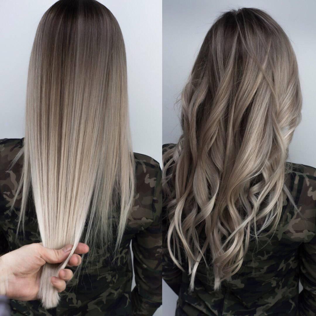 Как выглядеть красивой? колорирование на темные волосы: способы, фото, плюсы и минусы