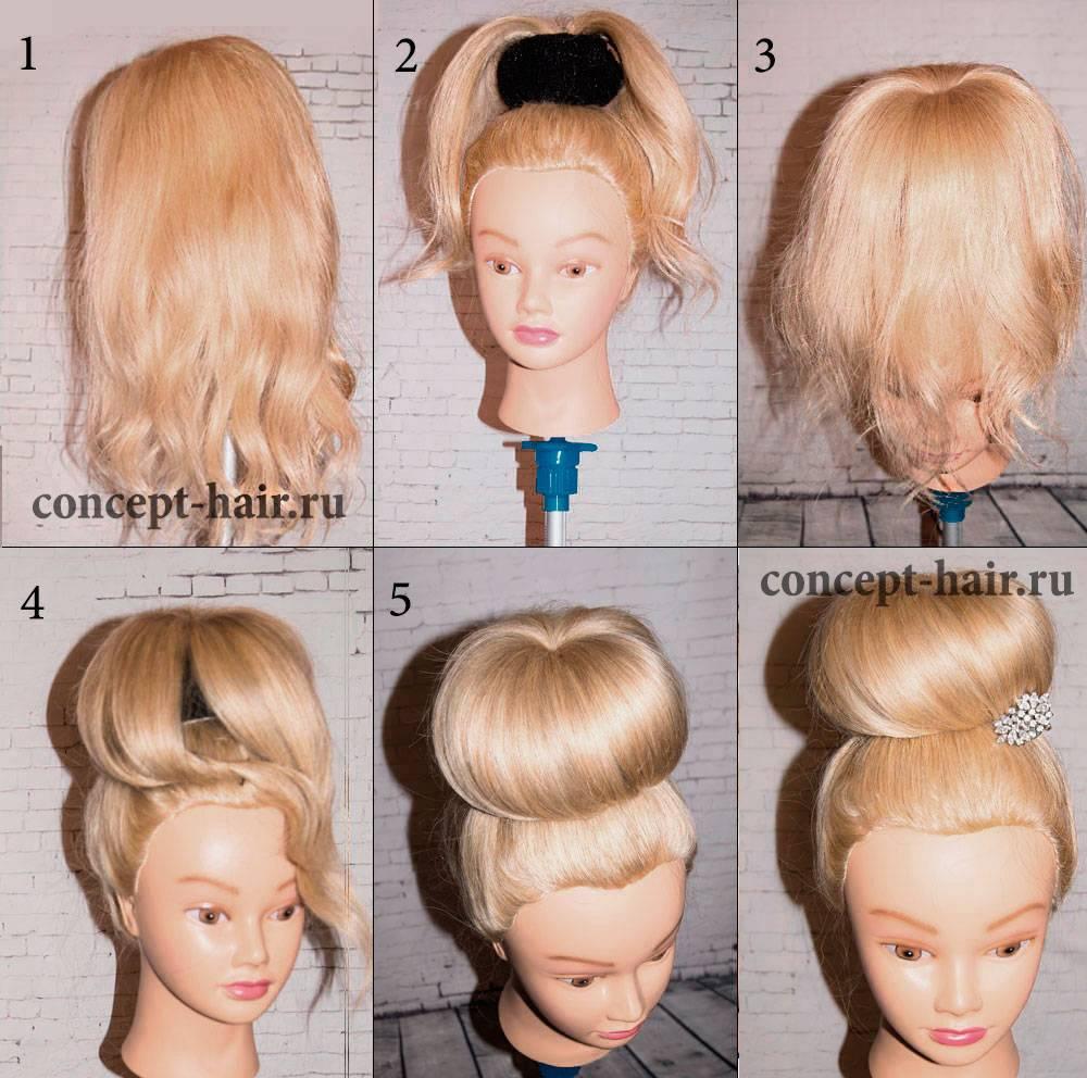 Бант из волос: оригинальные прически