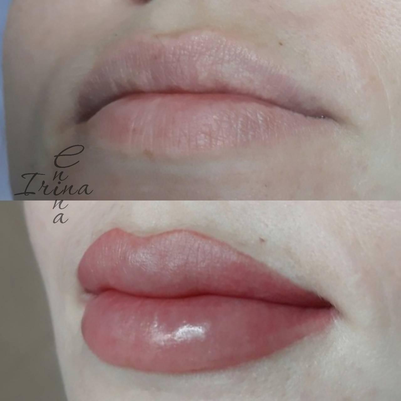 Личный опыт: перманентный макияж губ — porusski.me