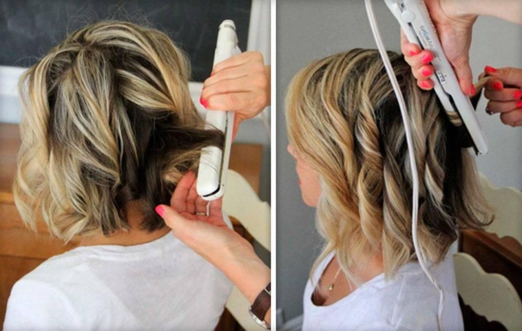 Локоны: красивые мелкие кудри на средние волосы в домашних условиях, как сделать модную и естественную укладку с челкой, ломаные