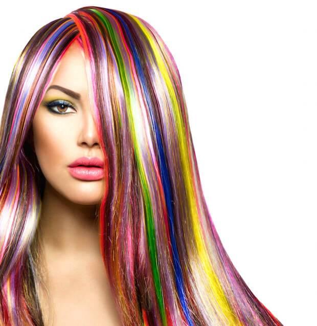Колорирование на темные волосы: какие оттенки выбрать, фото, все тонкости процедуры