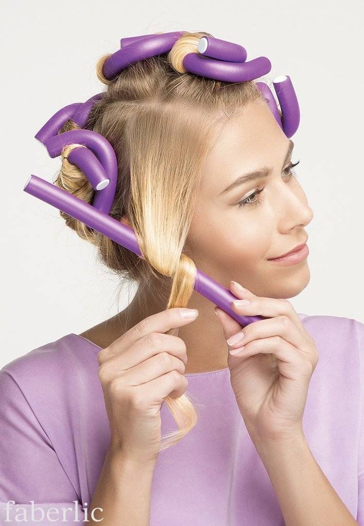 Как накрутить волосы на бигуди на ночь? мягкие бигуди для локонов
