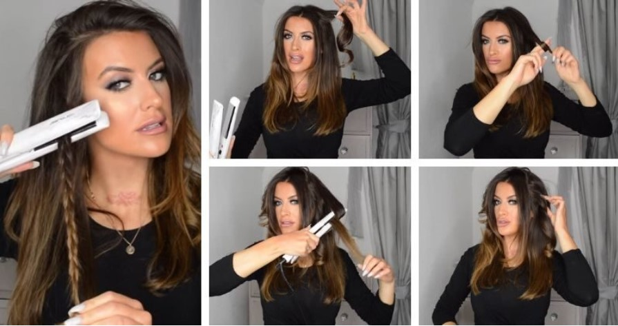 Укладка волос на средние волосы: 3 видео и много фото