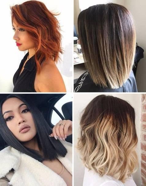 Окрашивание балаяж на темные и светлые волосы разной длины