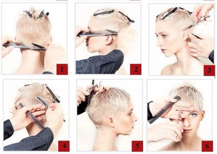 Прически на очень короткие волосы (35 фото): красивые и легкие женские укладки пошагово своими руками в домашних условиях