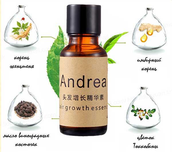 Andrea hair growth essence: инструкция по применению и эффективность сыворотки для волос