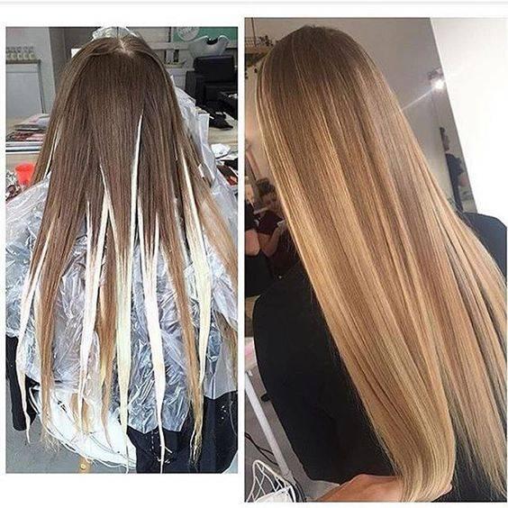 Балаяж: техника окрашивания волос