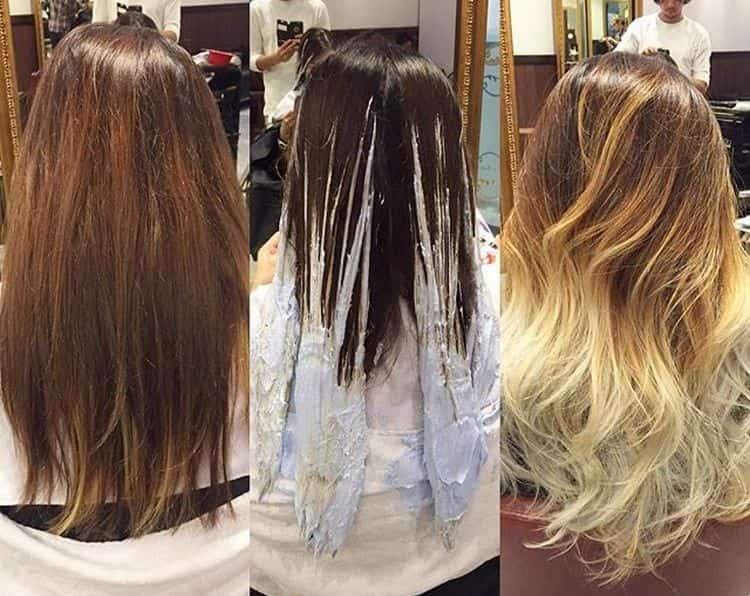 Балаяж: техника выполнения. пошаговая инструкция по окрашиванию волос с фото