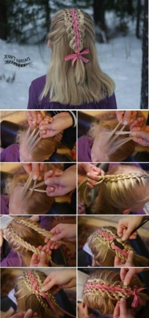 Прически с плетением — красивые и оригинальные техники плетения. 125 фото и видео мастер-класс оформления