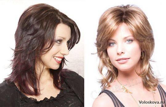 Каскад на вьющиеся волосы: разновидности и укладка