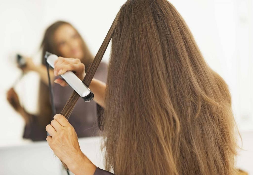 Укладка с помощью утюжка: правила использования, инструкция и выбор термозащиты для волос, фото до и после