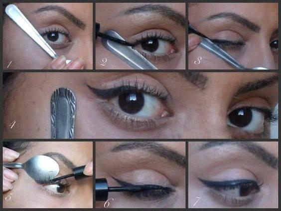 Как правильно нарисовать красивые стрелки на глазах жидкой подводкой и карандашом с видеоуроками