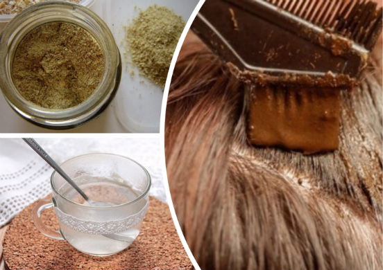 Бесцветная хна для волос и рецепты домашних масок