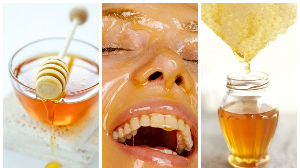 العسل لعلاج الغرغرينا