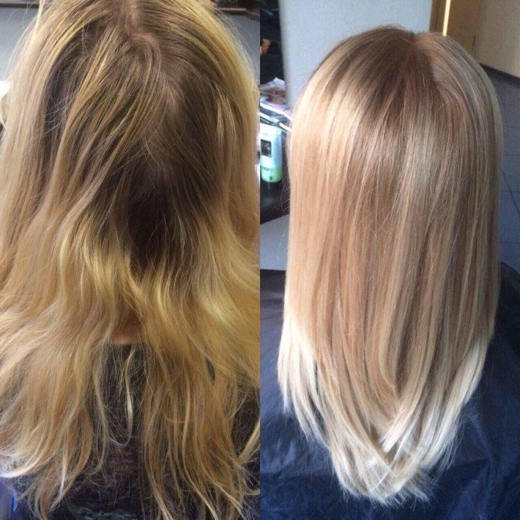 Тонирование волос после мелирования (60 фото): как выбрать профессиональный оттеночный шампунь и краску для мелированных волос? как тонировать волосы в домашних условиях?