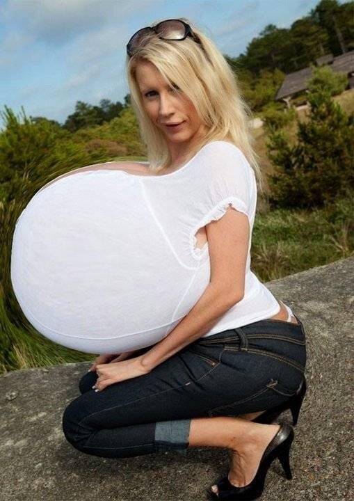 """Модель с самой большой натуральной грудью в мире: памела одаме и её """"богатство"""" (фото и видео)"""
