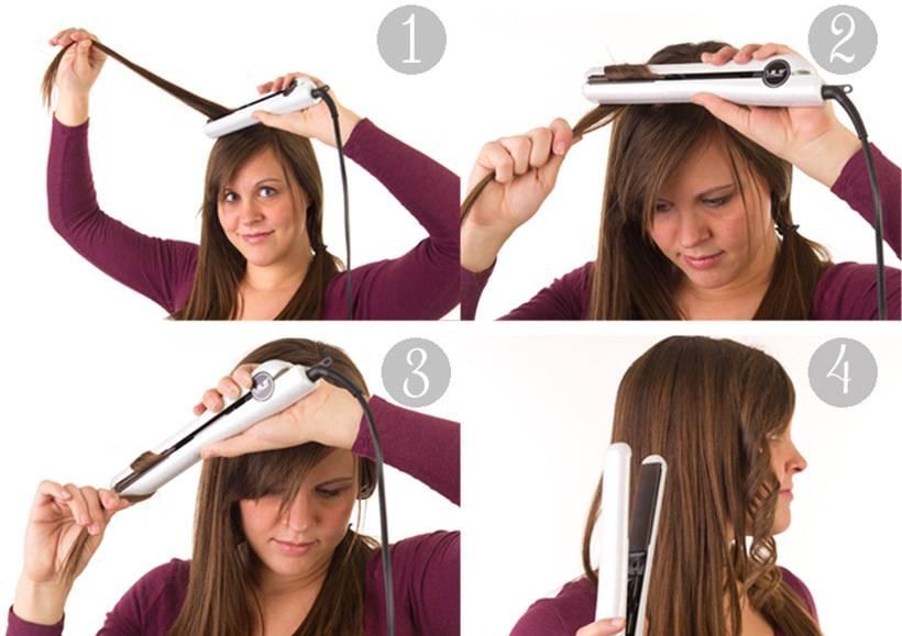 Прически утюжком: 115 фото способов укладки на длинные, средние и короткие волосы