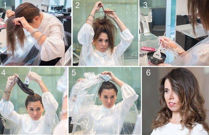 Как сделать омбре на волосах правильно самой за 5 шагов