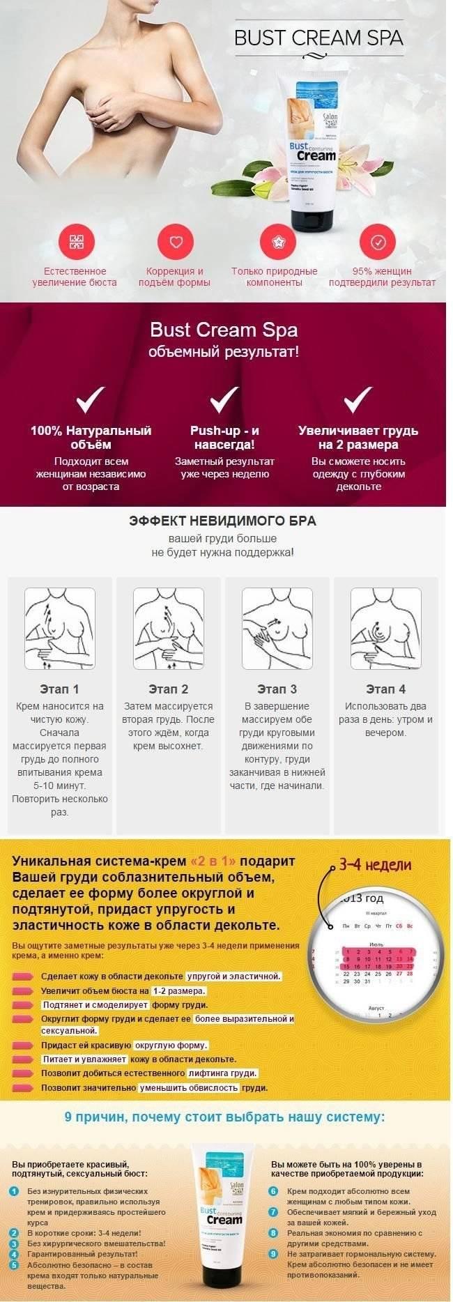 Как можно быстро сделать грудь упругой после родов в домашних условиях