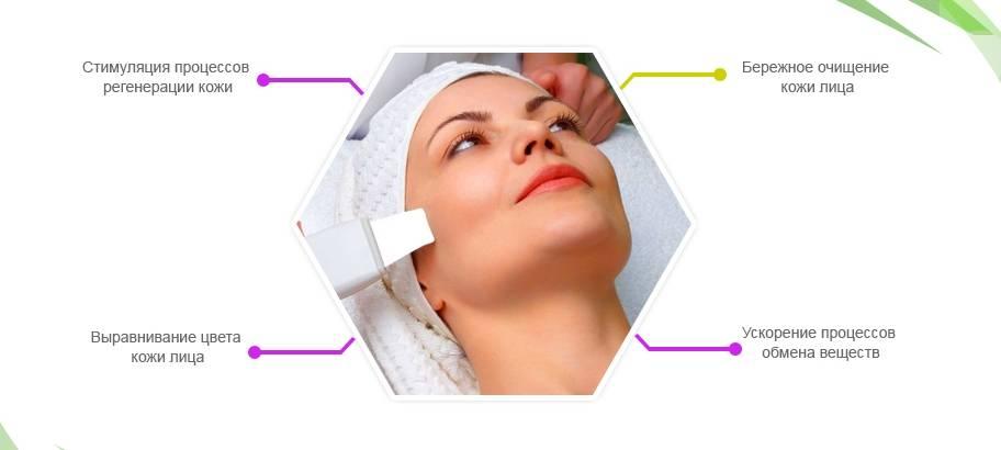 Пилинг лица ультразвуковой: что это такое, описание процедуры, противопоказания, плюсы и минусы