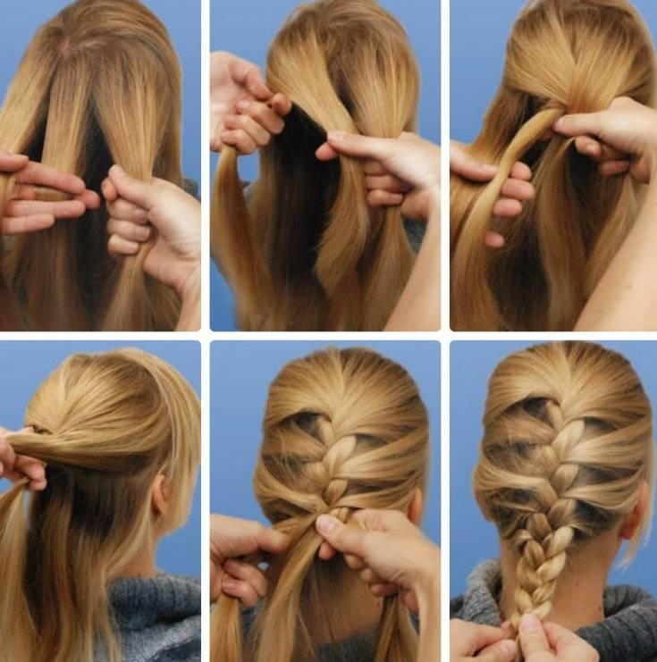 Две косички: пошаговое плетение, 8 идей с фото и видео уроками