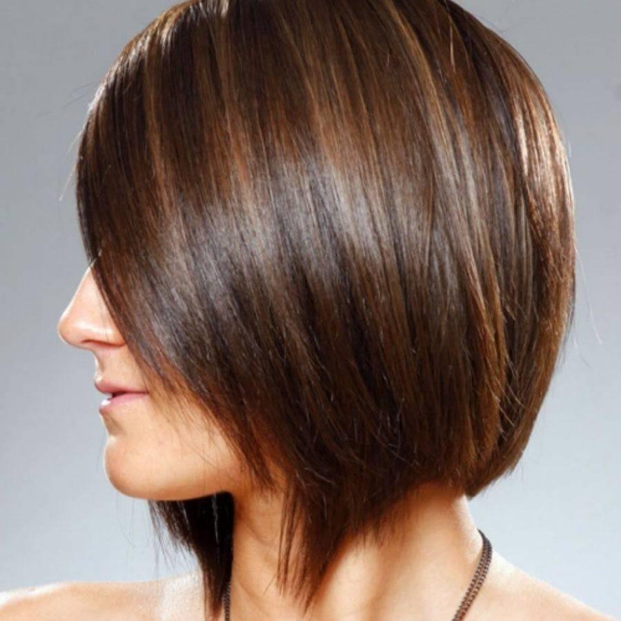 Стильное колорирование на темные волосы