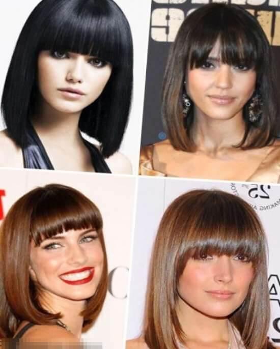 Стрижки до плеч — 15 вариантов женских стрижек на волосы средней длины с челкой и без, фото