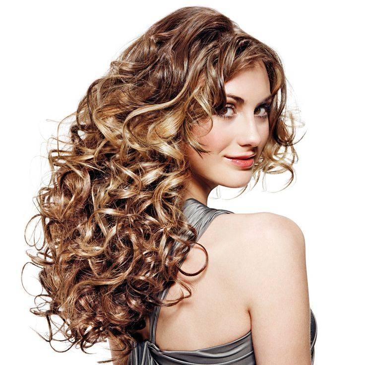Крупные локоны на средние волосы: завивка и укладка