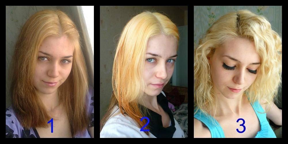 Чем осветлить волосы без желтизны?