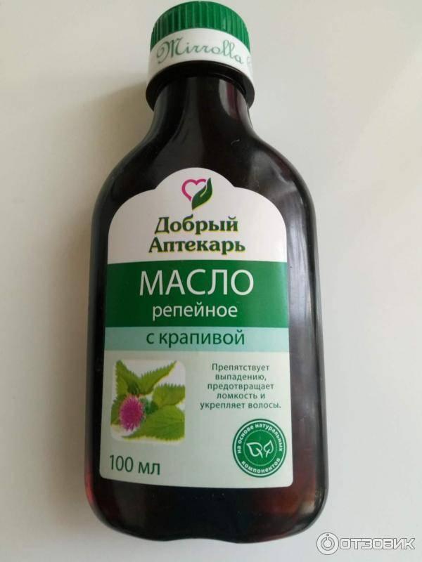 Природные компоненты репейного масла и крапивы в помощь поврежденным и слабым волосам
