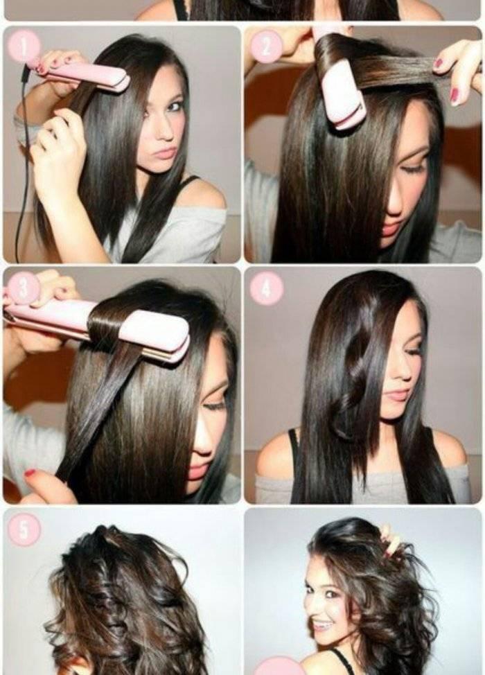 Как сделать кудри на короткие волосы: фото и видео