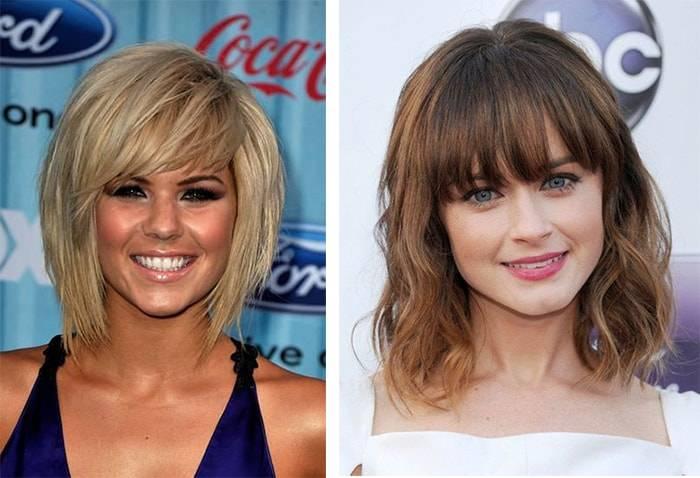 Модная стрижка на средние волосы чуть ниже плеч 2018: варианты и фото