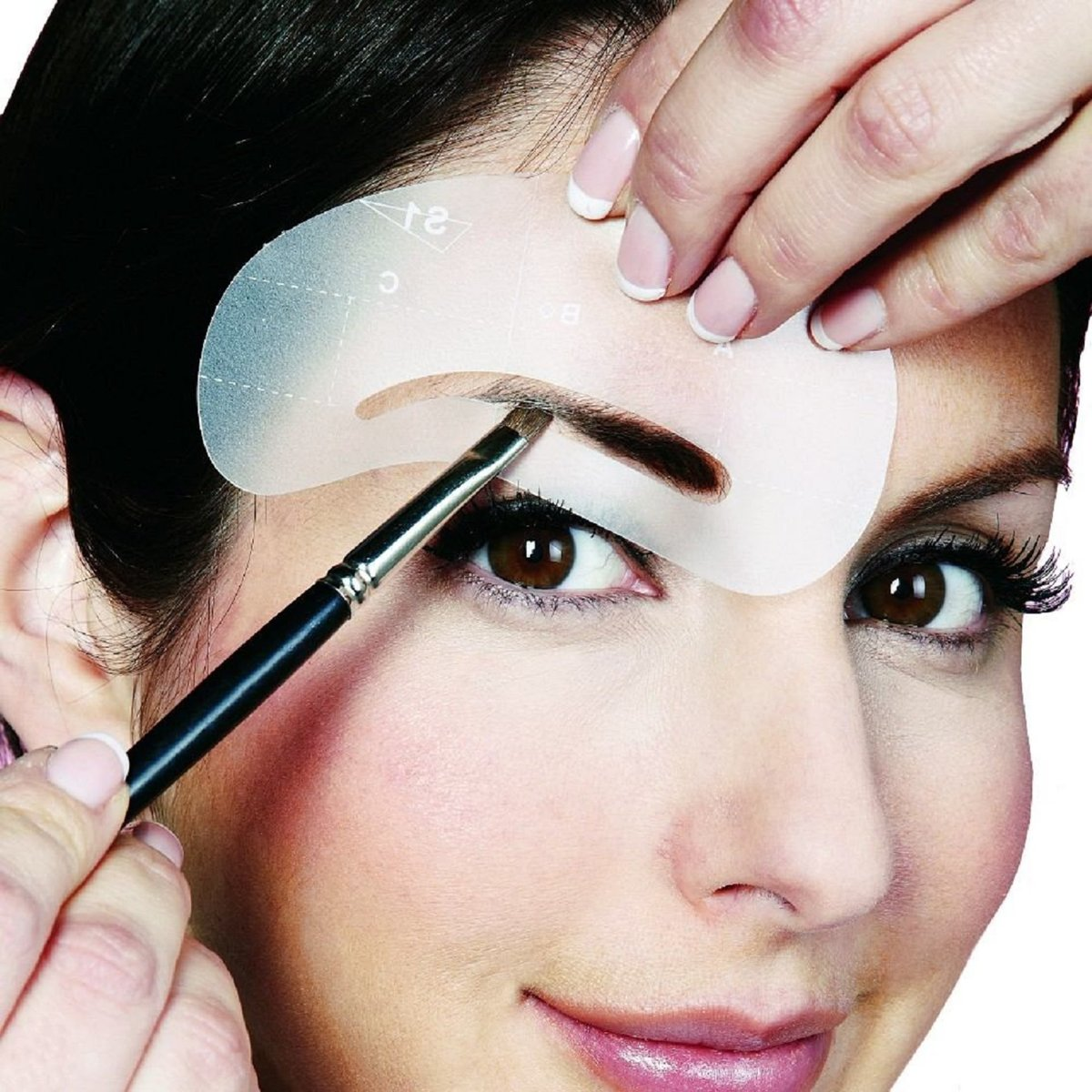 Пошаговая инструкция с фото, как правильно красить брови тенями