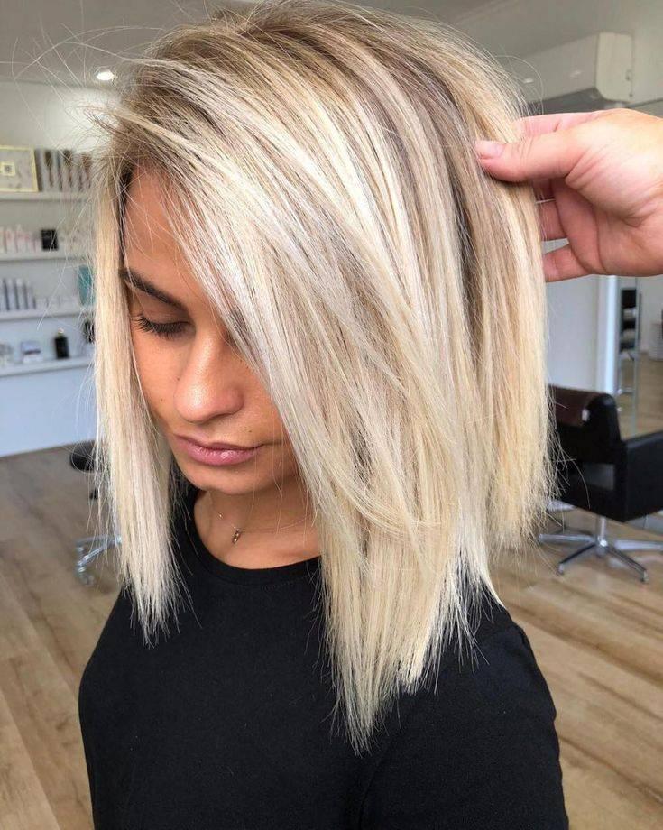 Модное окрашивание в 2020-2021 году на короткие волосы: (90+ фото)