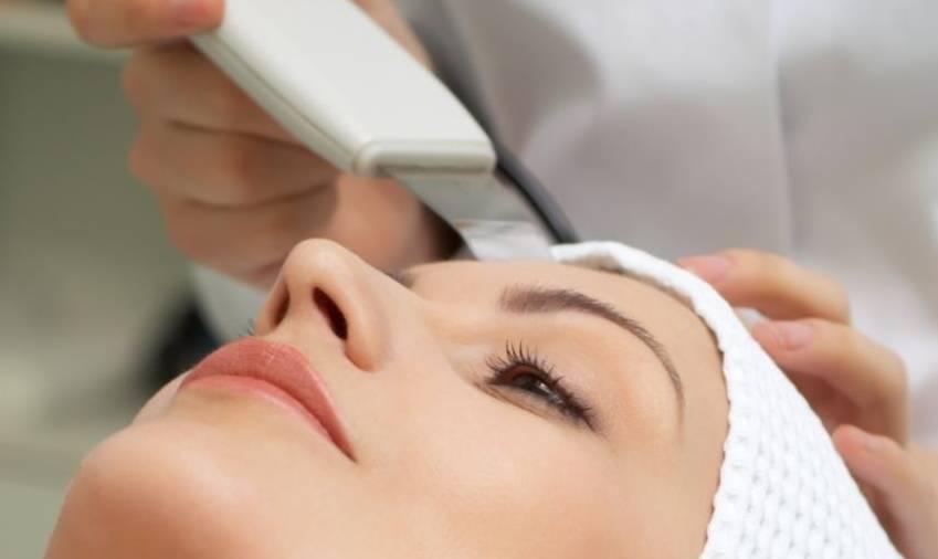 Ультразвуковой пилинг лица (уз пилинг), ультрафонофорез лица, ультразвуковой массаж лица, ультразвуковая липосакция