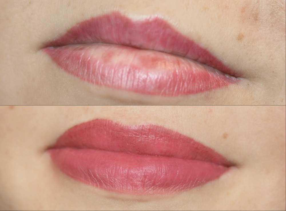 Татуаж губ: виды и отзывы