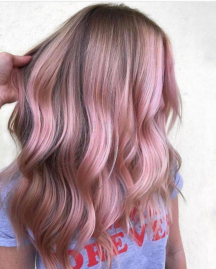 Обзор лучших розовых красок для волос