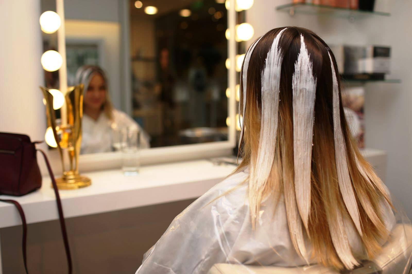Мелирование волос пошагово (виды. инструменты. ошибки)