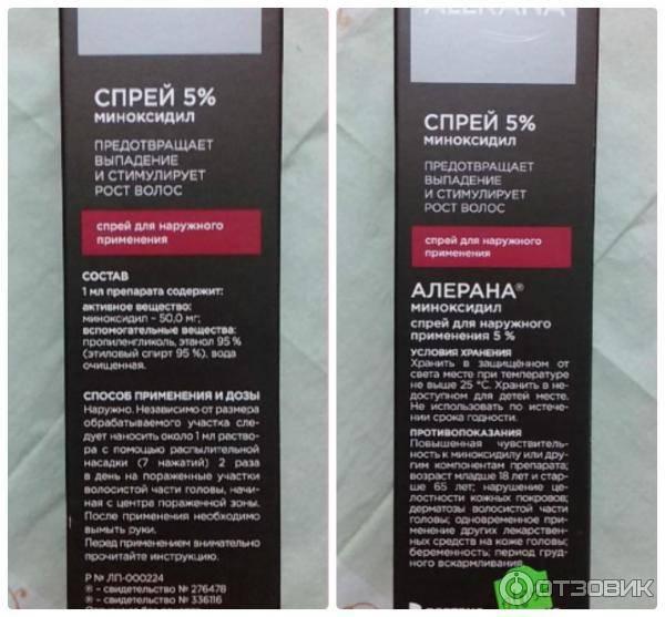 Алерана спрей против выпадения волос: какова цена препарата и как его использовать по инструкции, а также свойства, механизм действия и противопоказания