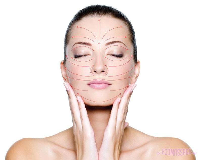 Японский массаж асахи для подтяжки кожи лица