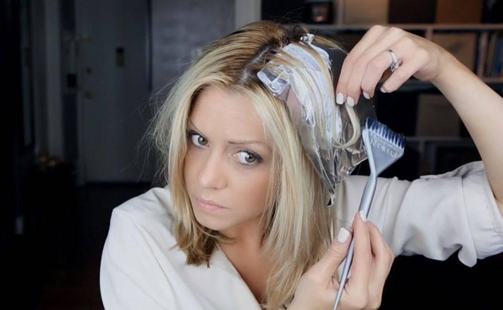Домашнее мелирование волос