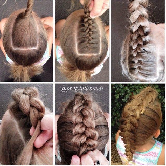 Плетение кос на короткие волосы за 5 минут