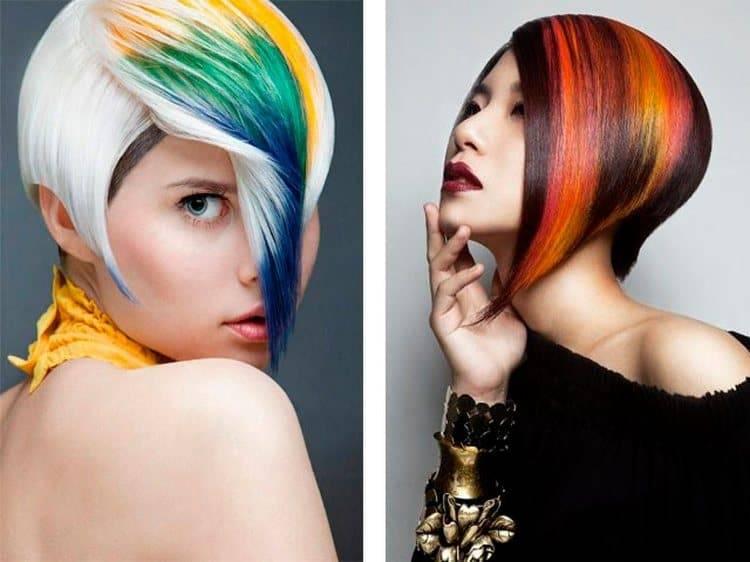 Покраска волос: способы современной окраски, виды