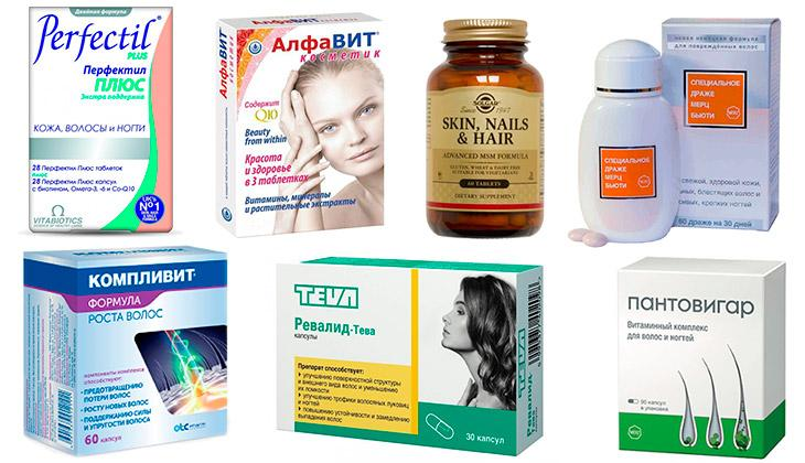 Витамины для укрепления волос и от выпадения в ампулах: свойства и показания к применению, отзывы